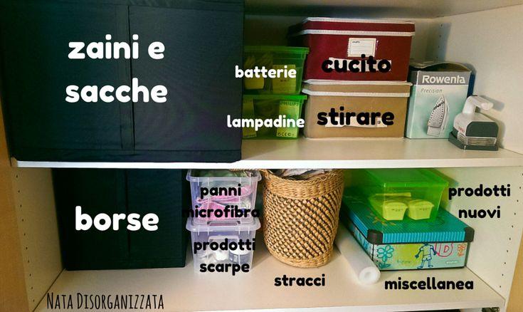 come organizzare prodotti di casa