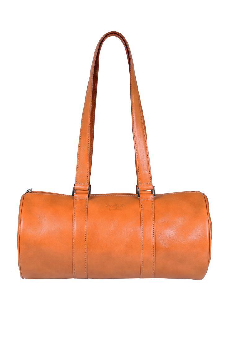 Front #honey #cylinderbag #barrel #barrelbag www.marhandbags.pl