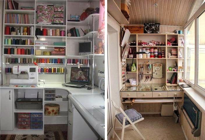 Mia casa: Идеи для оформления мастерской