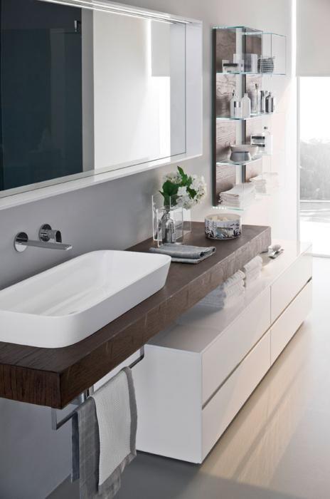Oltre 25 fantastiche idee su mobili per il lavabo del - Idee specchi per bagno ...