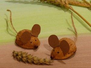 Myšky v obilí