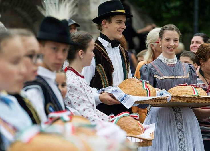 Holiday of Bread. 20th of august, every year in Hungary.