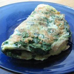 Omelette de Espinacas @ allrecipes.com.ar