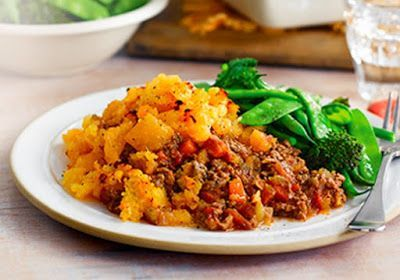 Slimming world: Cottage pie with swede mash topping