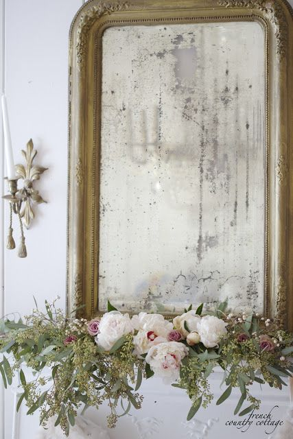 Christmas in White & Blush (FRENCH COUNTRY COTTAGE)