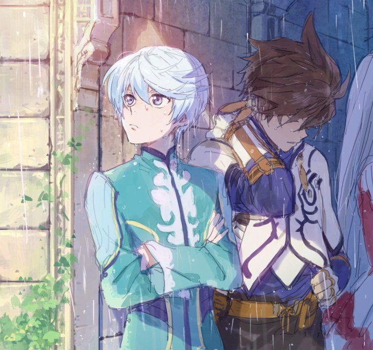 Zestiria - Sorey and Mikleo
