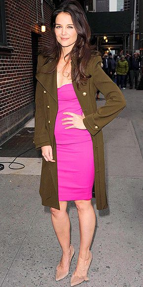 Great pink: KATIE HOLMES photo   Katie Holmes