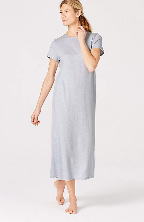 Image for Ultrasoft Long Sleep Gown from JJill | My Momma ...