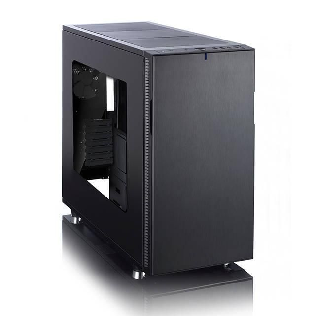 Fractal Design Define R5 Blackout No Power Supply ATX Mid Tower w- Window (Black)