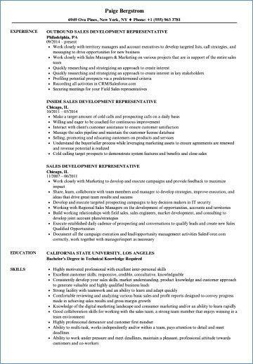 78 Luxury Photos Of Sample Resume for Junior Sales Representative