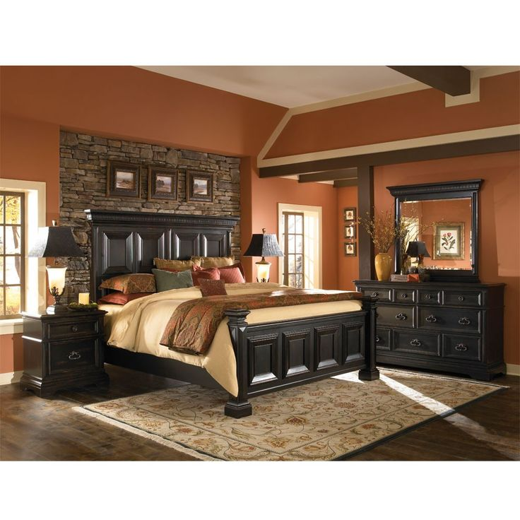 the wood panel bed ebony furniture offered humble abode bedroom sets