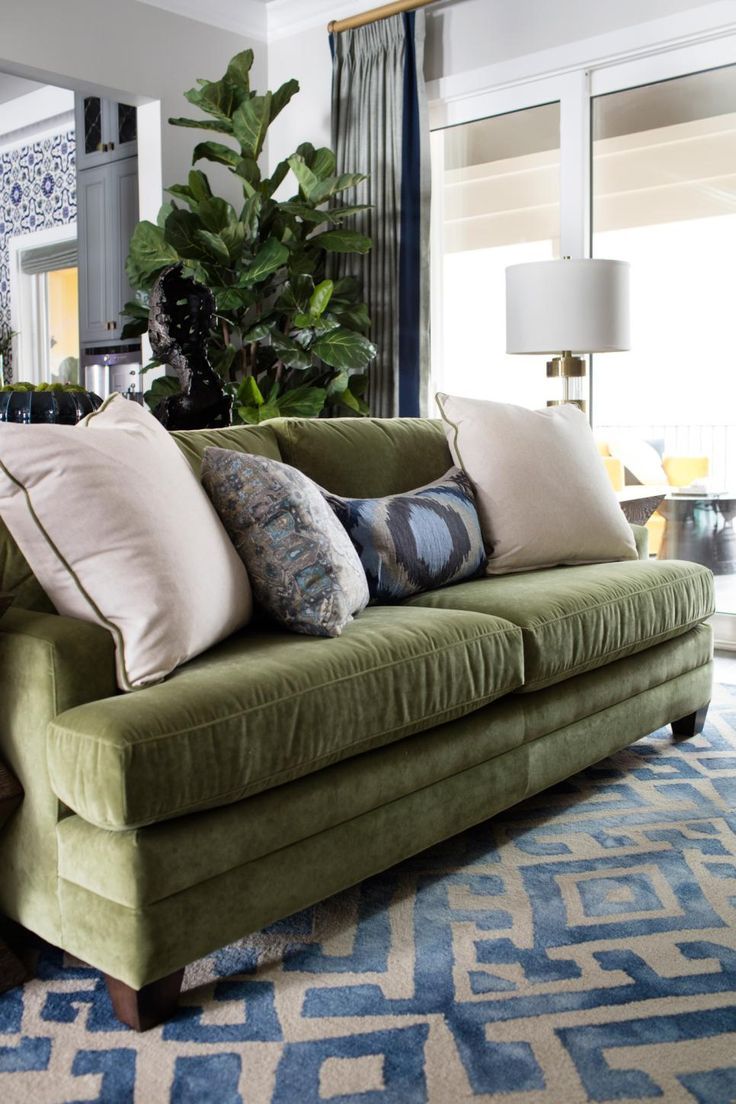 best 25+ green sofa ideas on pinterest | green living room sofas