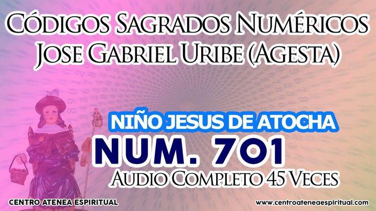NIÑO JESUS DE ATOCHA CODIGOS SAGRADOS 701.