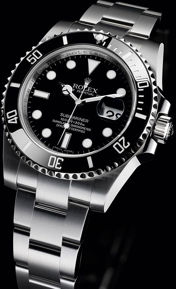 Rolex Submariner Date 116610LN My oh my, that is one sweet watch!