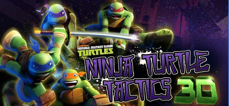 Ninja Turtle 3D Tactics game online