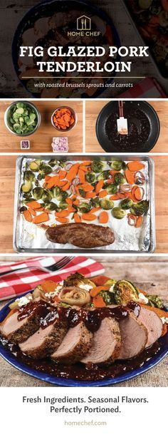 This elegant meal is the perfect endcap to a beautiful fall day. Check out this recipe and get $30 off your first order!