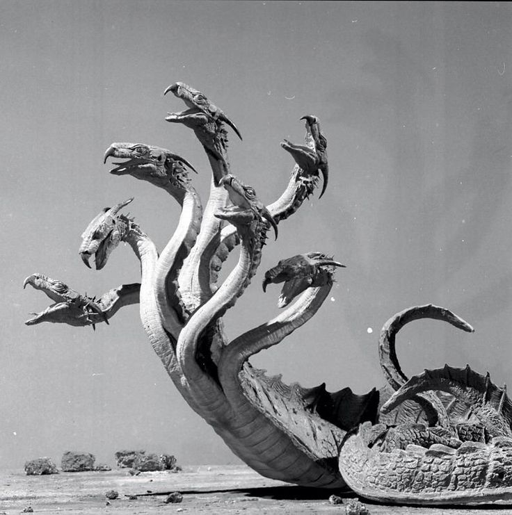 greggorysshocktheater:  The Hydra fromJason and the Argonauts (1963) ViaCreepy Nostalgy on Facebook