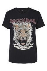 Vero Moda - shirt met tekstprint