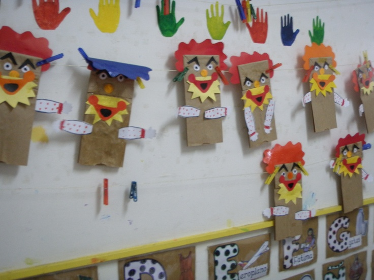 Arts And Crafts Paper Bag Puppets