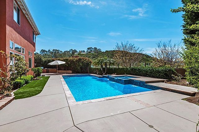 Relax by the pool with sweeping ocean views from this gorgeous Carmel Valley home, bordering Del Mar and Rancho Santa Fe ☀️13703 Vernazza, San Diego, CA☀️ 5 bedrooms, 4 bathrooms, 3,700 sq/ft, GATED home with long, private driveway...Offered at $1,895,000. For more info, give me a call: 858-337-1417 #ranchosantafelocals #sandiegoconnection #sdlocals #rsflocals - posted by Dane Soderberg  https://www.instagram.com/danesoderberg. See more post on Rancho Santa Fe at…
