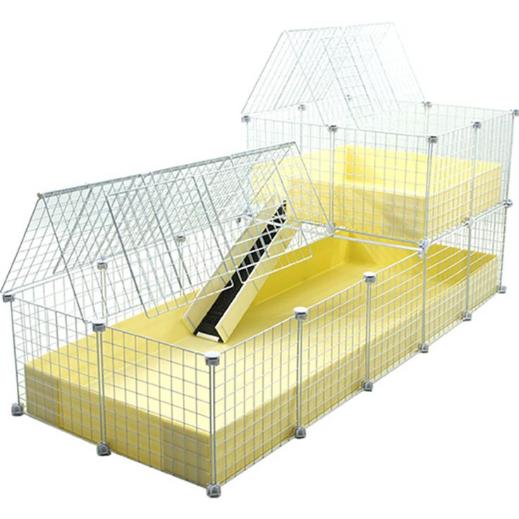 Really spacious premade C&C cage for guinea pigs! Worldwide shipping