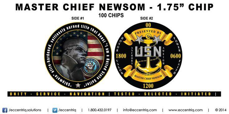 Thanks to CSCM(SW) Troy M Newsom from Navy Medical / Officer Programs in Albuquerque, New Mexico for choosing Eccentriq Custom Poker Chips!   Copyright © 2014 | Eccentriq Development Solutions LLC | 1.800.432.0197 | info@eccentriq.com | eccentriq.com | Facebook: http://www.facebook.com/eccentriq.solutions | Twitter: twitter.com/eccentriq