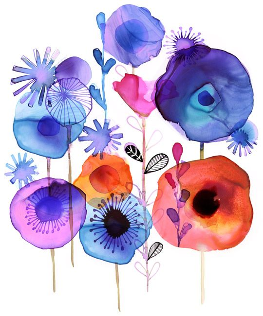 Margaret Berg Art: Botanical Blur