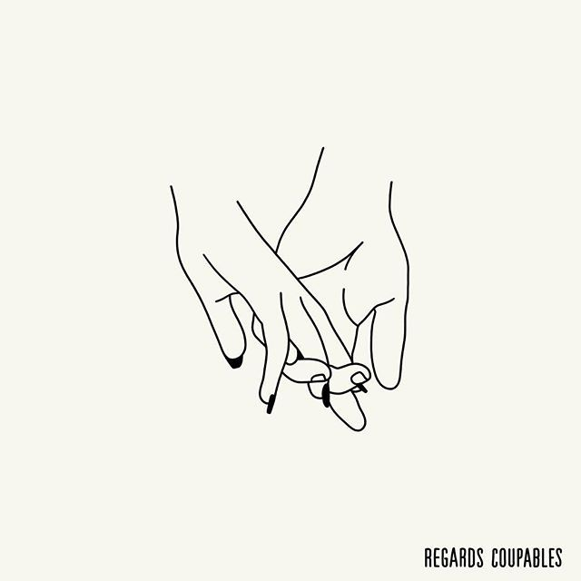 Never letting go of that hand, never letting go of that love❤️ WINTER SALES❄️ -10% off everything Discount code WS17 regardscoupables.com (Link in bio)  #eroticdrawing #eroticart #regardscoupables