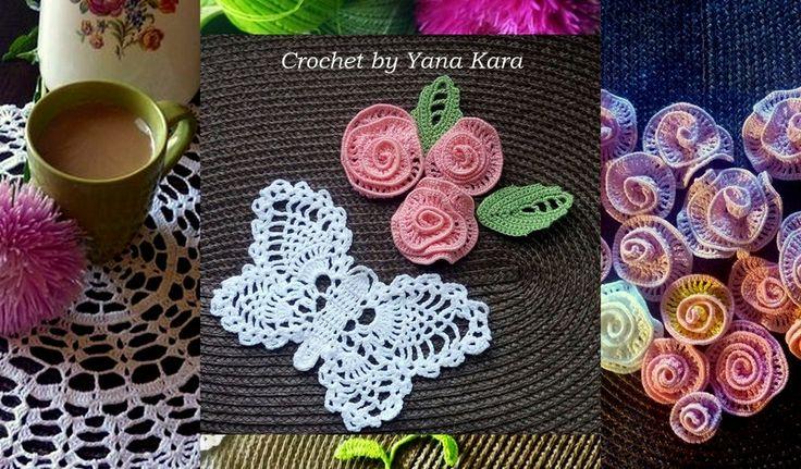 Crochet by Yana  Vestido circular crochet