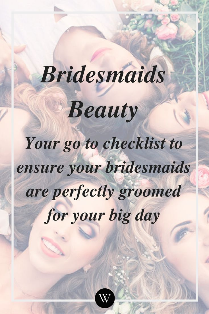 We like to think our bridesmaids will think our wedding is as important to them as it is to us but that isn't always the case. Everyone has such busy lives these days, it can be hard to keep track of everything (including your bridesmaids responsibilities). Here is a simple checklist to give your ...