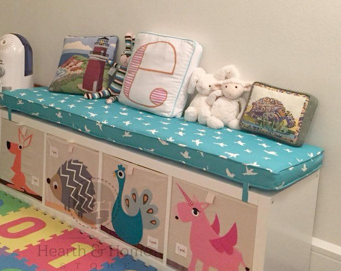 Ikea Cuscini Per Letto.Ikea Kallax Custom Cushion Playroom Cushion Nursery Bench Seat