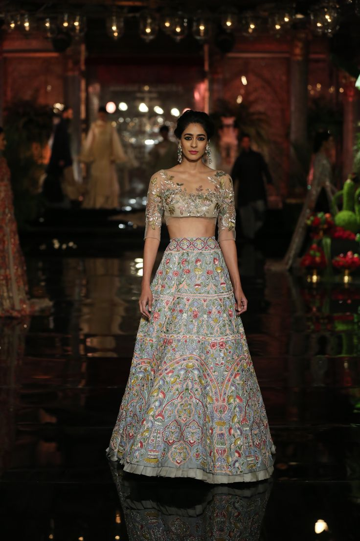Manish malhotra anarkali manish malhotra anarkali hd wallpapers car - The Persian Story By Manish Malhotra At Icw2016 Lehenga Blouseanarkali