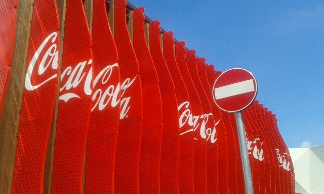 Expo Milano - Coca Cola #colorful #coke #expomilano #expomi #Expo2015 #expomilano2015