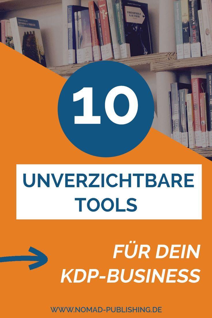 Meine Top 10 Amazon Publishing Tools