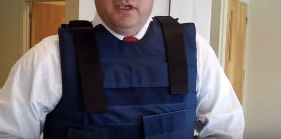 Technically Incorrect: In Florida, a man allegedly has a bulletproof vest and wonders if its still works. His cousin decides to test it out. Bulletproof vests have a shelf life.
