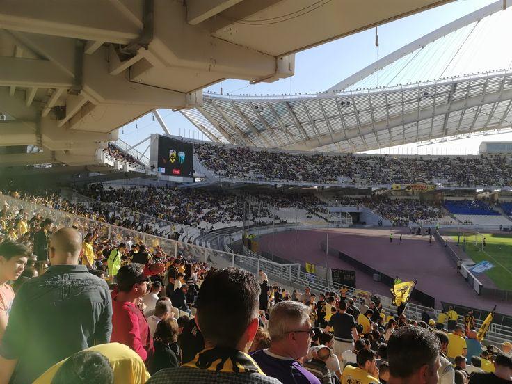 ΑΕΚ - λεβαδειακός 2-0 28η αγωνιστική πρωταθλήτρια  22-4-2018