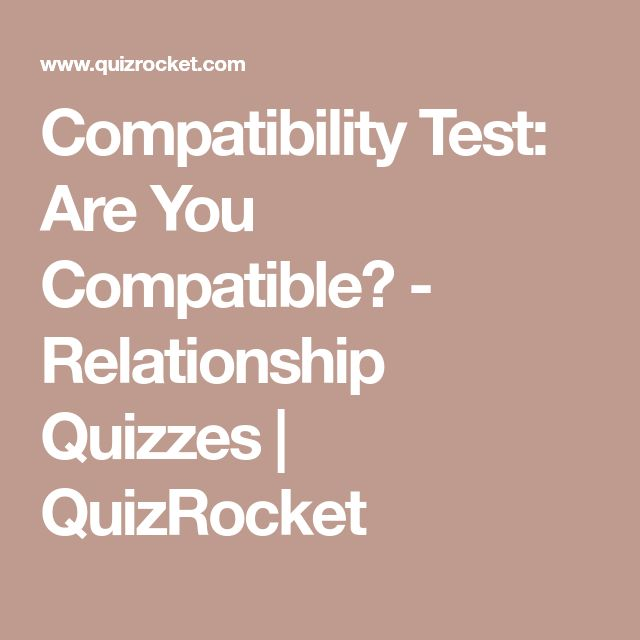 dating personality compatibility test questions quiz