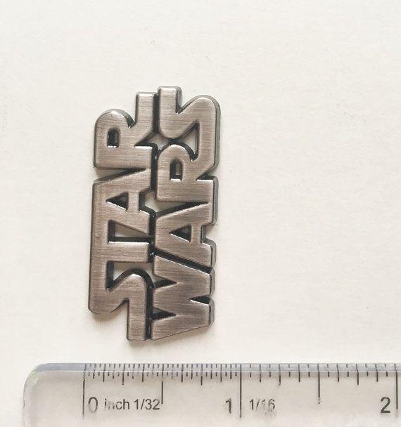 Star Wars Logo für Fondant Gumpaste Clay Harz von LittleQuineMold