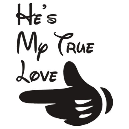 HE'S MY TRUE LOVE. AVAILABLE TO BUY ON : T-SHIRTS & HOODIES, CASES & SKINS, STICKER, PRINTS & CARDS, HOME DECOR, TOTE BAGS