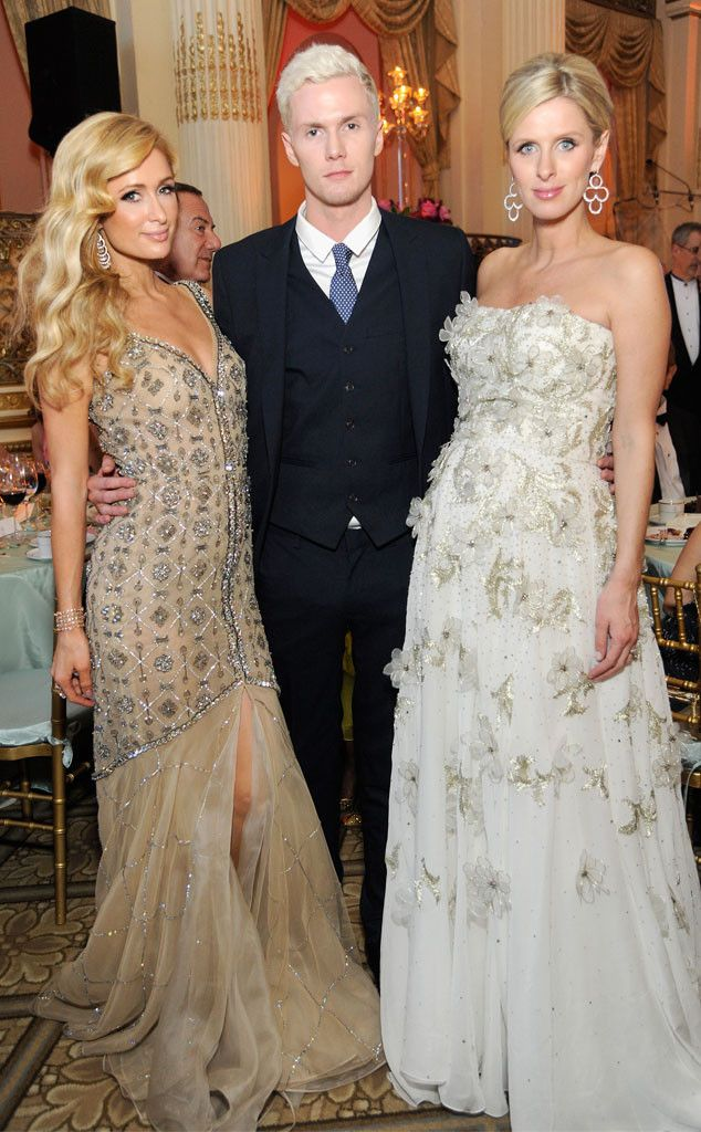 Paris Hilton, Barron Hilton & Nicky Hilton from The Big Picture: Today's Hot Pics  Three's company! The siblings are snapped together at FIT's Annual Gala in NYC.