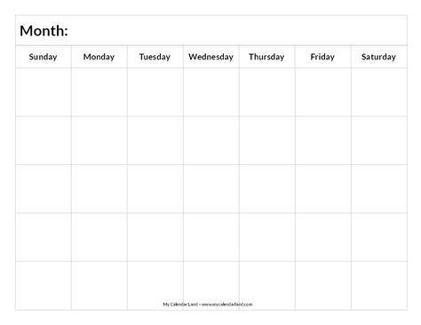 Best 25+ Blank calendar ideas on Pinterest Free blank calendar - blank calendar template