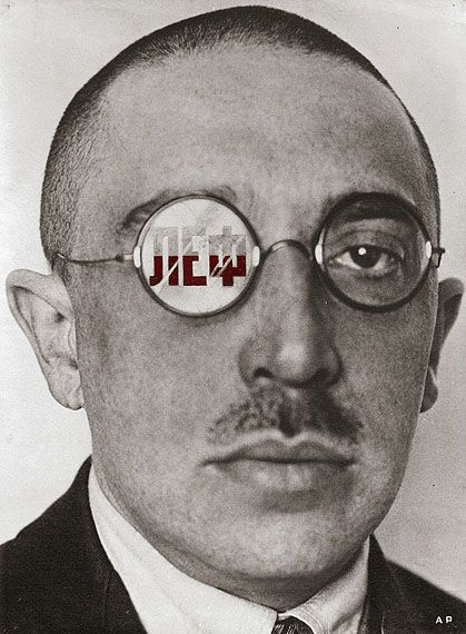 Alexander Rodchenko. Used photographs and was an early pioneer of photograms - belonged to the Russian Constructivist Movement.
