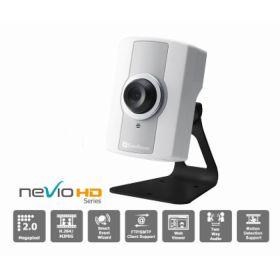 Camera supraveghere IP Megapixel Everfocus EQN2200 de interior cu rezolutie inalta H.264 de 2M (1600 x 1200 pixeli), lentila fixa si o temperatura de functionare cuprinsa intre 0 si +40 grade Celsius.
