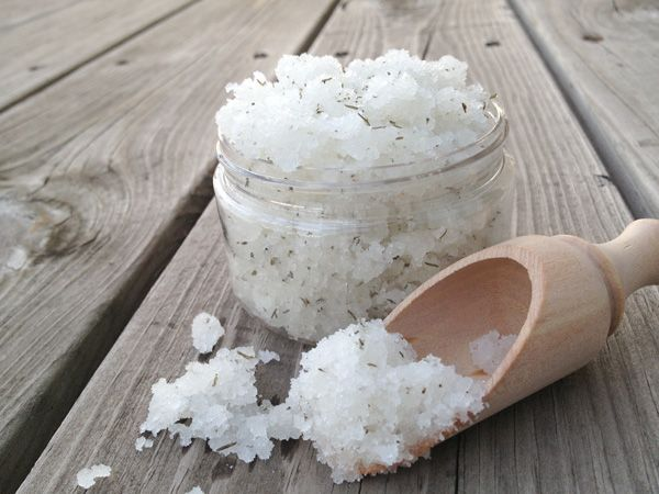 Final Image - Make A Cooling Peppermint and Thyme Foot Scrub