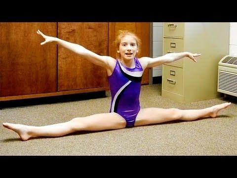 Seven Gymnastics Girls: Splits Tutorial - YouTube