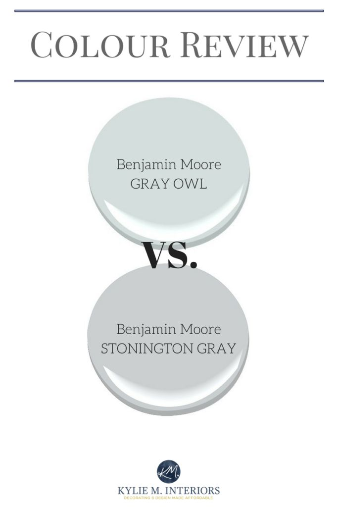 Benjamin Moore Gray Owl Vs Stonington Gray U2013 Comparing Undertones And More. Grey  Paint ColorsGray ...