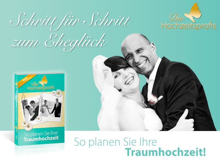 """DER Ratgeber zur Hochzeitsplanung: """"Die Hochzeitsprofis"""", überall im Buchhandel http://www.amazon.de/Die-Hochzeitsprofis-Expertenwissen-Traumhochzeit-Budgetplaner/dp/3862430804"""