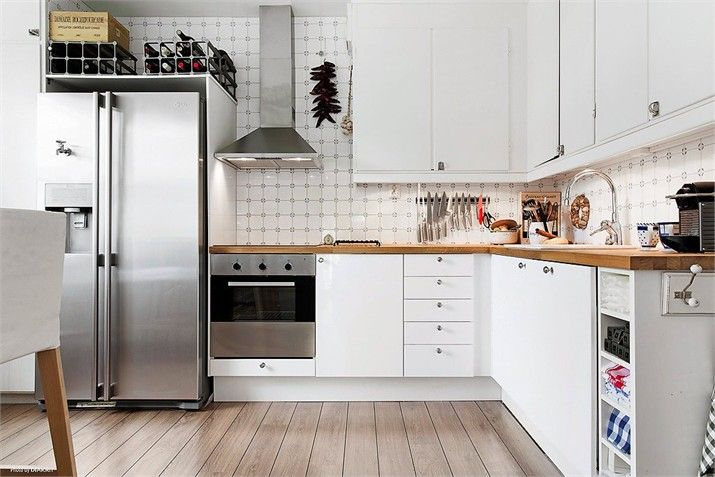 Fint kök och golv