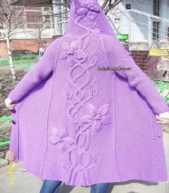 Beautiful Knitting coat - Free Crochet Patterns