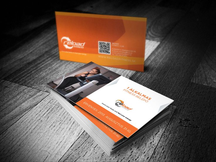 Fitness coupon card